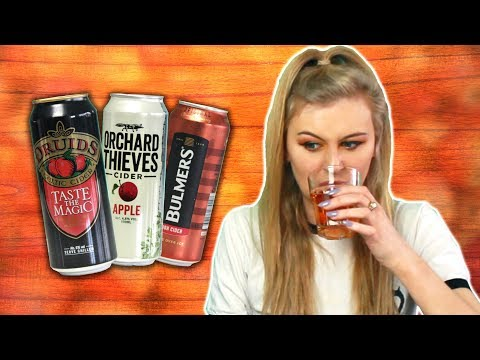 Irish People Try Irish Ciders