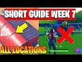 Visit all Expedition Outposts , Destroy flying X-4 Stormwings, Season 7 week 7 Guide fortnite