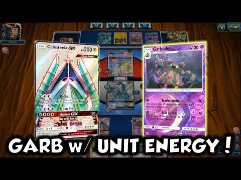 New Drampa Garbodor Deck Using Celesteela, Shining Mew, and Unit Energy!