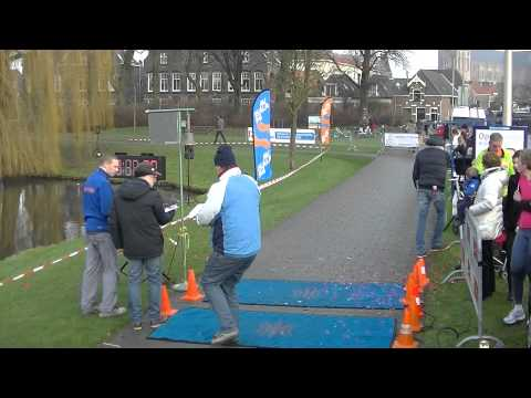 33ste Oudejaarsloop Kampen 2014 passages en finishes