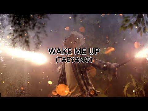 Taeyang (태양) - Wake Me Up (Rom/Han/Eng Lyrics)