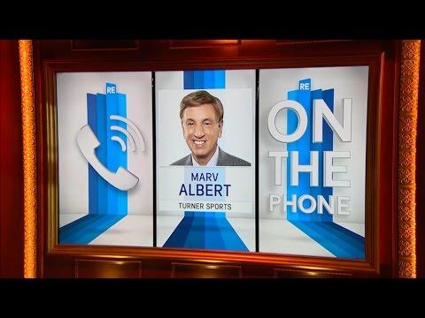 NBA on TNT Play by Play Analyst Marv Albert Talks NBA Playoffs & More - 5/2/16