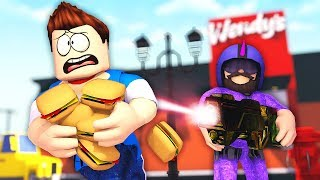 THE BURGER BATTLE !? - Daycare (Roblox Roleplay)