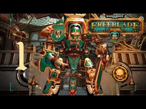 Railing Down Some Orks in my Titan | Warhammer 40,000: Freeblade Ep.1