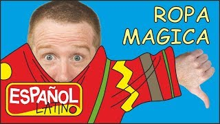 Ropa Magica para Niños | Cuentos Infantiles | Aprender las Formas con Steve and Maggie Español