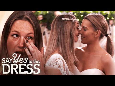 Brides Want to Find Unique Dresses That Work Well Together | Say Yes To The Dress Lancashire