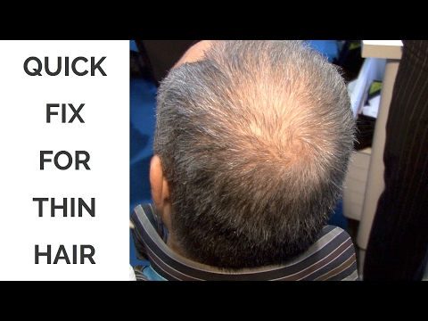 Quick Fix for Thin Hair