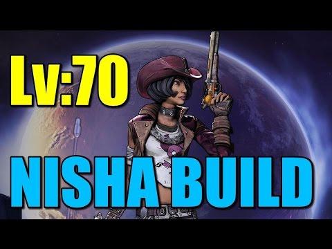 """Borderlands: Level 70 Nisha Build """"Goddess of Death V2"""""""