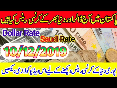 Today All Currency Rates In Pakistan   Today Dollar Rate Open Market  Saudi/Derhm/Omni Rates.