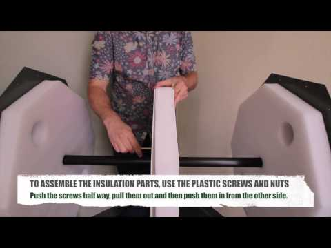 how to assemble the jora jk270 composter video