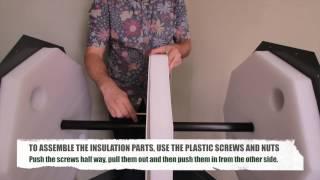 Assembly Video for medium Size Jora Composter, JK 270