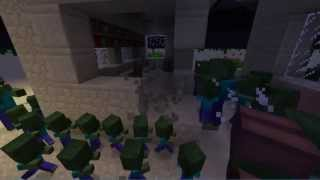 minecraft aldeanos vs zombies