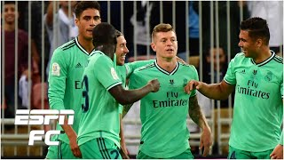 Valencia 1-3 Real Madrid: Toni Kroos scores an OLIMPICO! | Spanish Super Cup Highlights