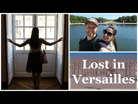 VISITING THE PALACE OF VERSAILLES! | City & Grace