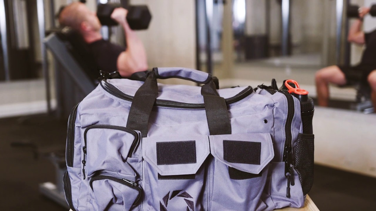 814f0565357cd0 Rigor Gear Large Gym Bag with Shoe Compartments - YouTube