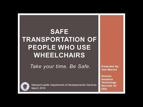 MA DDS Safe Transportation of People in  Wheelchairs_Revised March 2018