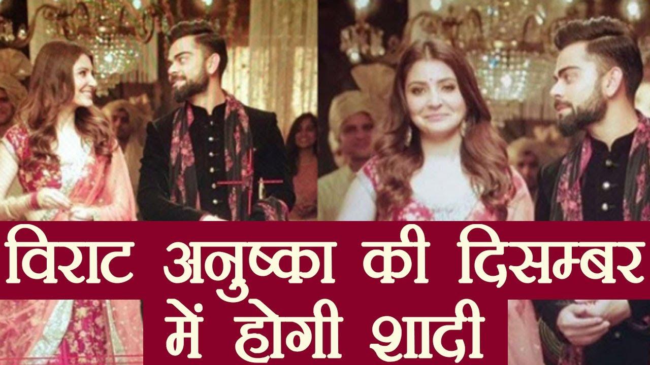 Virat Kohli Hka Sharma Getting Married To Tie Knot This December वनइ ड य ह द