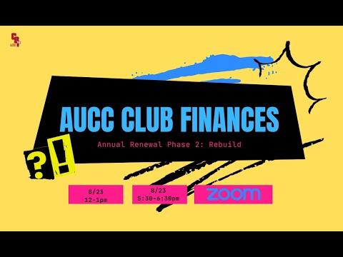 AUCC Club Training