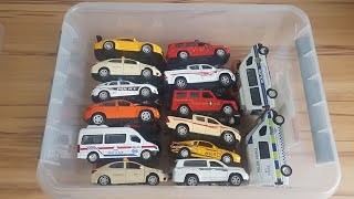 Cars for Kids Box Full of Cars, Police Cars, Texi, Ambulance Kids Cars