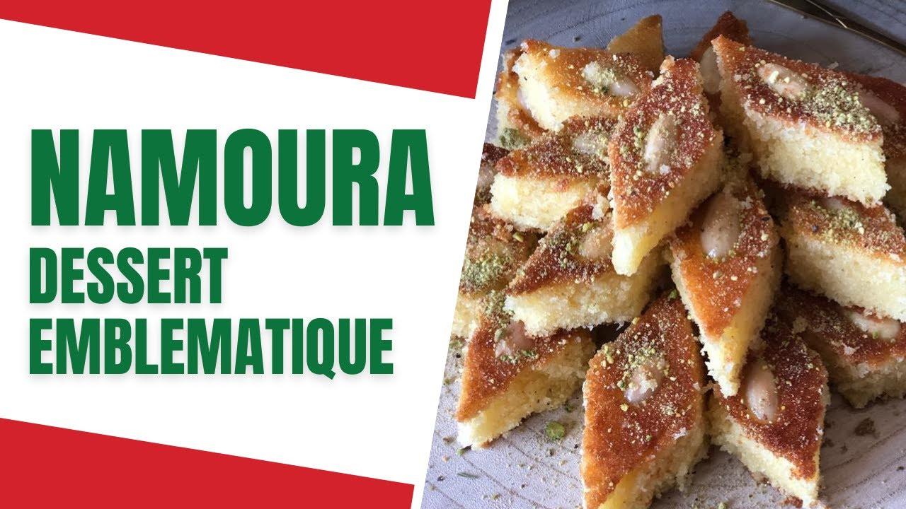 🇱🇧 Réussir la NAMOURA, célèbre dessert LIBANAIS - CUISINE LIBANAISE