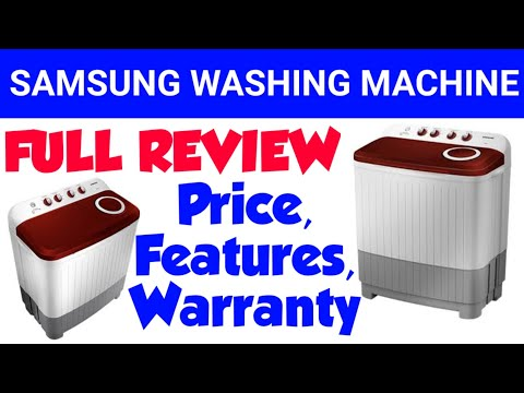 Samsung Washing Machine 7.5 kg Review, Price, Features, Warranty Model WT75M3000HP TL