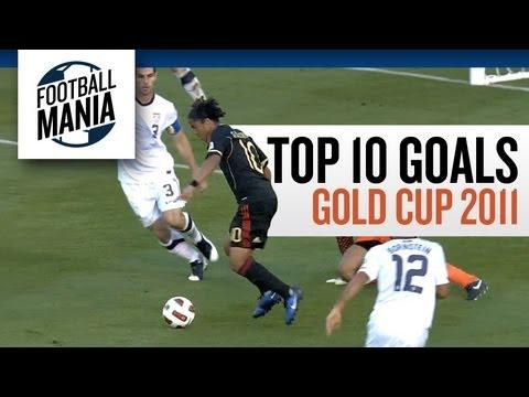 Top 10 Goals: Gold Cup 2011