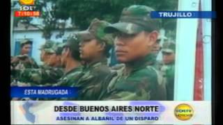Esta madrugada: Asesinan de un disparo a albañil en Buenos Aires Norte