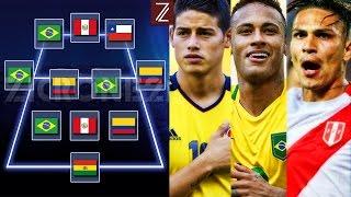 El Once Ideal y los 5 Mejores Goles de la Fecha #13 #14   Eliminatorias Sudamericanas