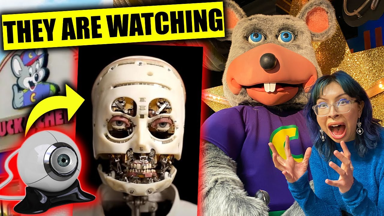 Download Chuck E Cheese Animatronics are STALKING US?! (HIDDEN CAMERAS IN EYES?! *CREEPY*)
