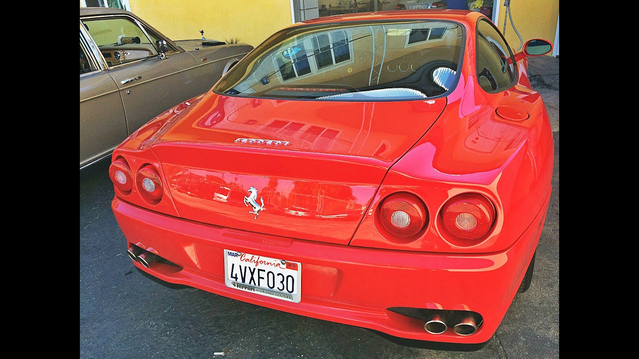 ferrari 550 maranello interior repair in los angeles youtube. Black Bedroom Furniture Sets. Home Design Ideas