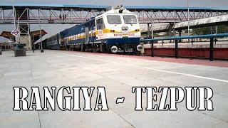 TRAIN TO TEZPUR : Rangiya - Dekargaon Passenger with brand new EMD loco departs RANGIYA Jn thumbnail