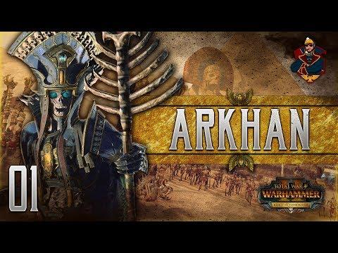 ARKHAN THE BLACK OF NAGASH! | WARHAMMER II - Vortex Campaign (Tomb Kings) #1