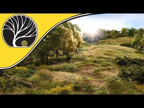 FS637 Modelismo ferroviario Naturaleza y paisaje WOODLAND SCENICS Briar Patch Dry Brown
