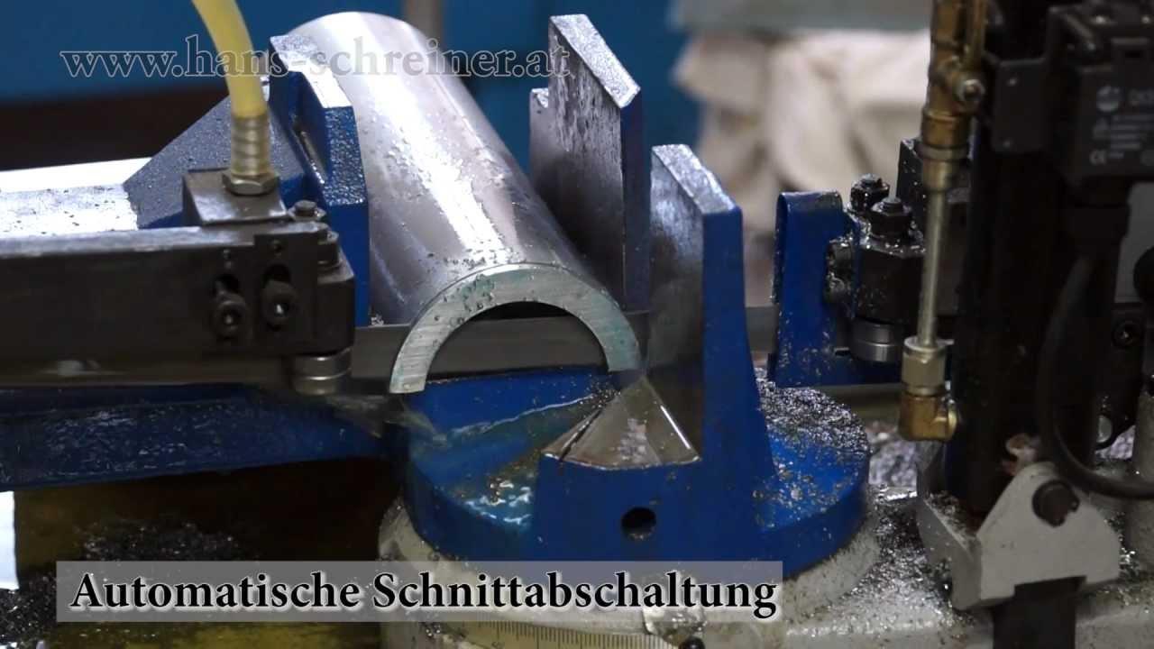 Unterschiedlich Metallbandsäge MBS 210FH, sägen von Stahl mit der Metall Bandsäge  XM71