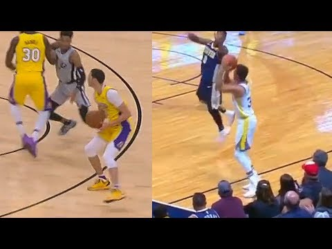 Lonzo Ball Impersonates Stephen Curry