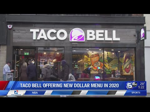 Taco Bell To Offer New Dollar Menu In 2020