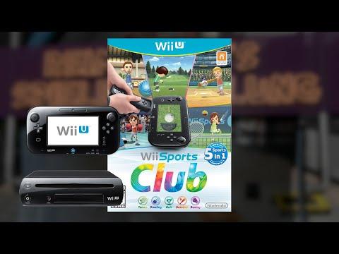 Gameplay : WII Sports Club Tennis [WII U]