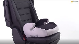 Osann Kinderautositz Sitzerhöhung Junior Isofix, ECE Gruppe 2/3, 15-36 kg