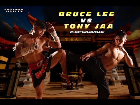 Bruce Lee vs Tony Jaa Fight Fan Film