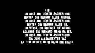 Aschenflug Adel Tawil feat Sido & Prinz Pi Lyrics