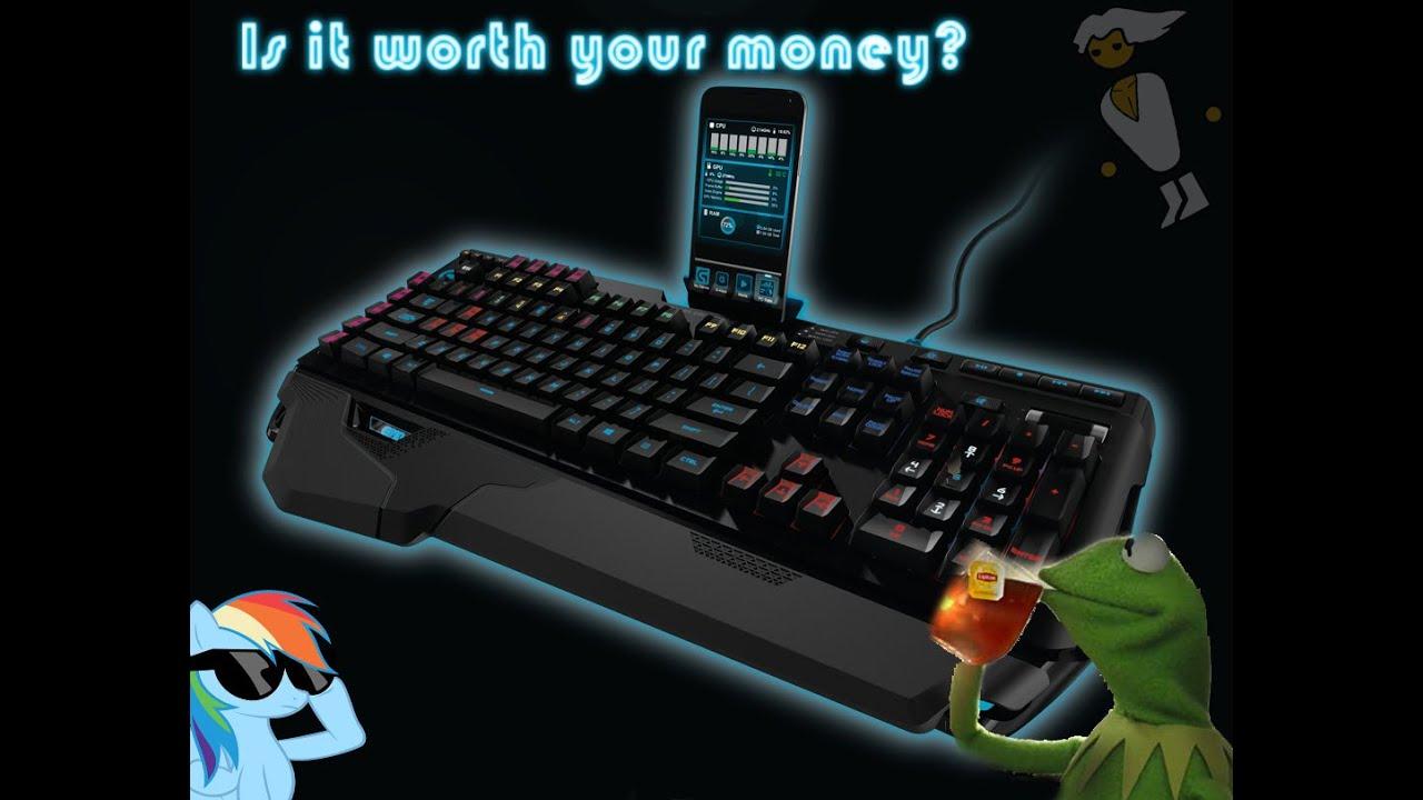 Logitech RGB G910 Orion Spark Mechanical Gaming Keyboard Free Shipping