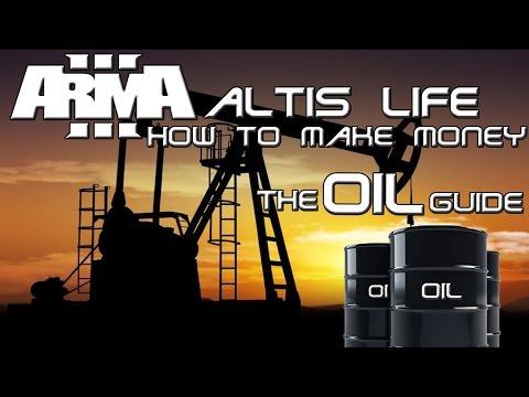 Arma 3 Altis Life - How to make money guide - Oil tutorial