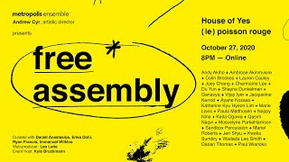 Free Assembly: October 27, 2020