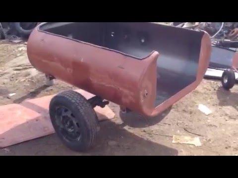 DIY ATV / UTV Tag-Along Cargo-Trailer Easy Project - YouTube
