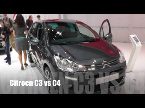 Citroen C3 vs C4