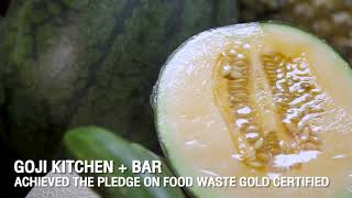 1st Hotel Restaurant in the world certified by The PLEDGE™ on Food Waste