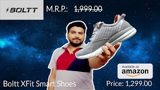 [Hindi] Boltt X Fit Smart Running Shoes | Review| Net Drugs