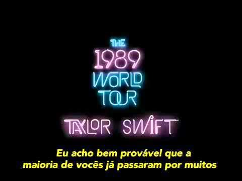 Clean Speech [LEGENDADO] - Taylor Swift