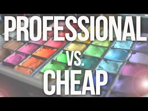Professional Face Paint vs. Cheap Face Paint Comparison