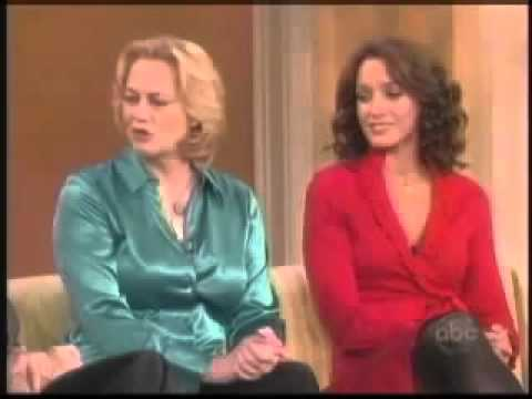 Jennifer Beals and Cybill Shepherd on The View (2008)